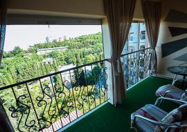 У Ивана Гармония - стандарт двух местный с доп.местом    Гостиница   Профессорский уголок