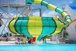 Крым Саки отель бассейн завтрак  Прибой  аквапарк