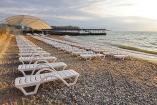 Крым Песчаное гостевой дом с бассейном  пляж